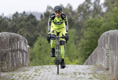"""Alejandro Marque se siente un """"superhéroe"""" con el maillot amarillo portugués"""
