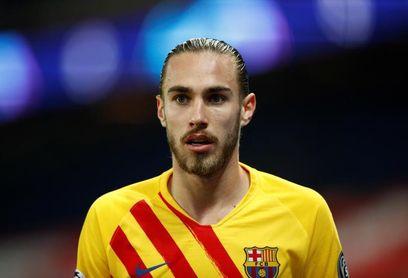 Mingueza, baja por lesión en el debut liguero del Barça ante la Real Sociedad