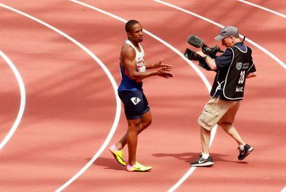 Suspendido por un positivo el medallista británico Chijindu Ujah