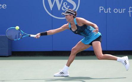 Muguruza dice adiós a Cincinnati tras perder frente a Krejcikova en octavos