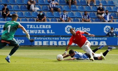 0-1. Fer Niño lanza al Mallorca