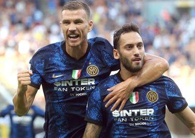 El Inter arrolla al Génova con gol y asistencia de Vidal