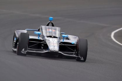 El español Alex Palou, gran perdedor en la conducción errática de la IndyCar