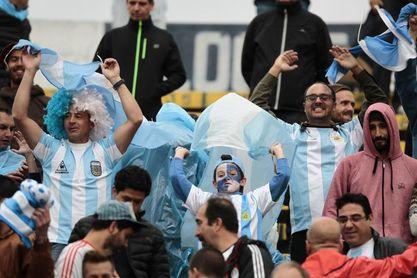 El público volverá al estadio en Argentina en el partido contra Bolivia