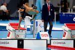 Oscar Salguero, plata en los 100 metros braza
