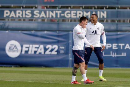 Messi y Mbappé, convocados por el PSG para el partido ante el Reims