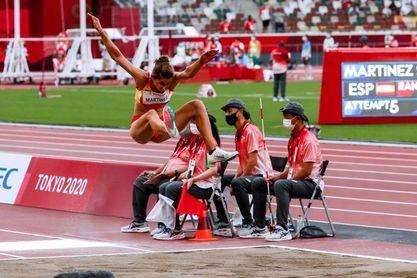 Sara Martínez salta en Tokio hasta la plata