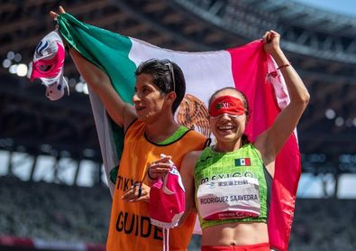 La mexicana Mónica Rodríguez, oro y récord del mundo en los 1.500 metros