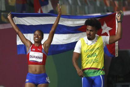 Omara Durand mantiene su corona de reina de la velocidad