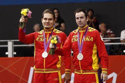 Álvaro Valera y Jordi Morales, pareja de bronce en tenis de mesa