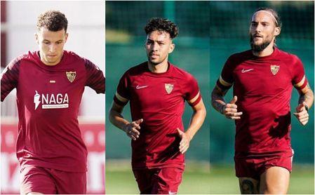 El Sevilla publica una lista de 22 futbolistas para la Champions con tres sorpresas