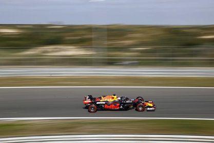 Verstappen delante de los Mercedes en el último libre de Zandvoort