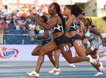 La jamaicana Fraser-Pryce se queda lejos del récord del mundo