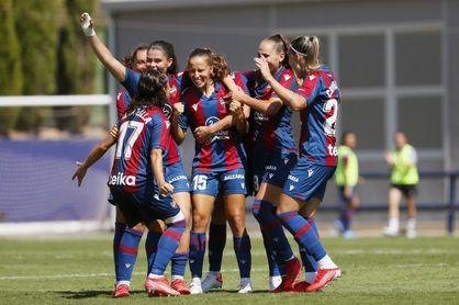 4-0. El Levante Femenino somete al Real Madrid