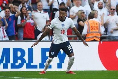 4-0. Lingard brilla e Inglaterra golea en su vuelta a Wembley