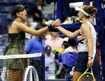 La checa Krejcikova elimina a Muguruza y alcanza los cuartos de final del US Open