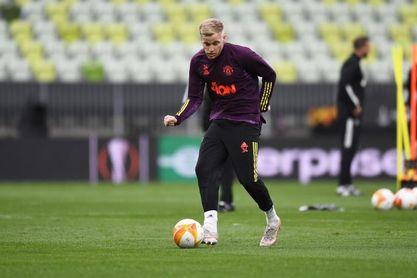 Van de Beek confía en su futuro en el Manchester United