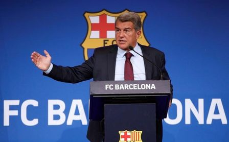 """Joan Laporta: """"El Barça aún está en la UCI, pero está mejorando"""""""