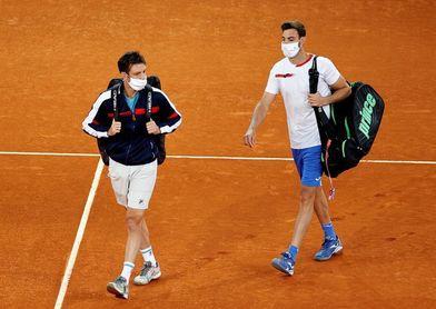 El español Granollers y el argentino Zeballos, eliminados en dobles del US Open