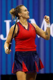 Sabalenka barre a Krejcikova y jugará con Fernández en las semifinales del US Open