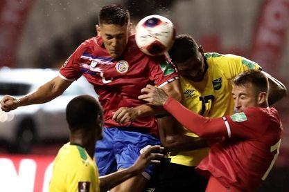 1-1. Keylor Navas salva a Costa Rica de la debacle contra Jamaica