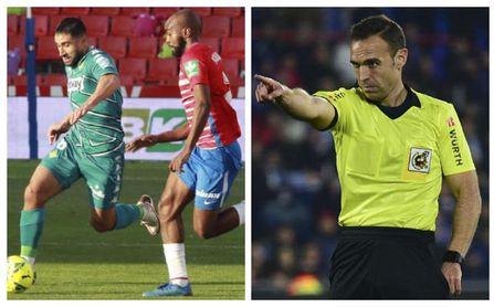 El Granada - Real Betis ya tiene árbitro