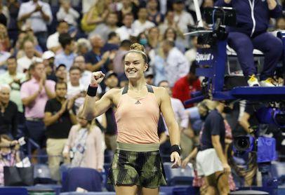 Sakkari llega a su primera semifinal del US Open y la jugará ante Raducanu