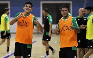 Jaén, Jimbee, Betis Futsal y Viña Albali se prueban en el Torneo Ciudad de Linares.