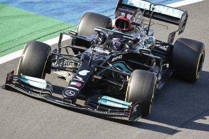 Hamilton empieza marcando territorio en el primer libre de Monza