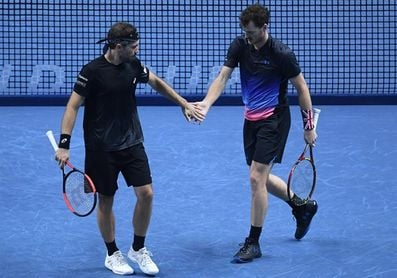 Jamie Murray y Bruno Soares jugarán la final de dobles contra Ram y Salisbury