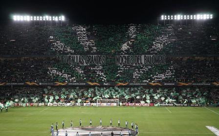 Todos los abonados Liga + Europa podrán acudir al Betis-Celtic.