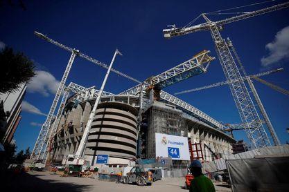El Real Madrid ultima los detalles de la vuelta a un Santiago Bernabéu aún en obras