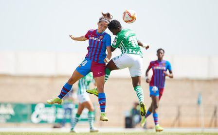El Betis Féminas no puede contener a un FC Barcelona arrollador