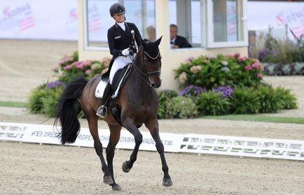 El europeo de doma clásica Hagen 2021 tiene un nombre: Von Bredow-Werndl