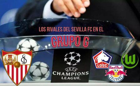 Salzburgo y Wolfsburgo arrollan, el Lille se desangra... Así le fue a los rivales del Sevilla en la Champions