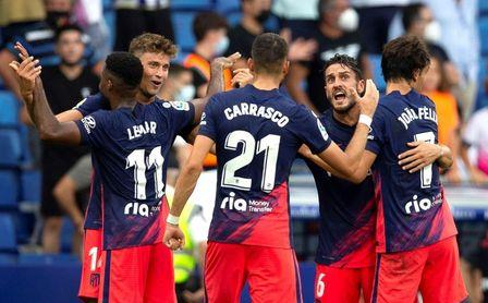 1-2. El Atlético resiste, insiste y remonta al Espanyol con un gol de Lemar... ¡en el minuto 100!