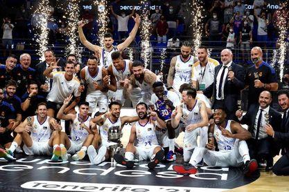 83-88. El Real Madrid gana su cuarta Supercopa consecutiva