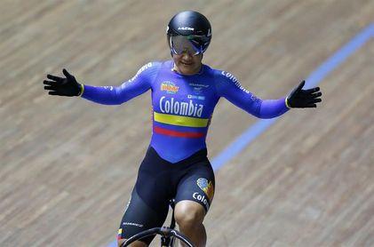 La colombiana Martha Bayona gana su tercer oro en la Copa de Naciones de pista