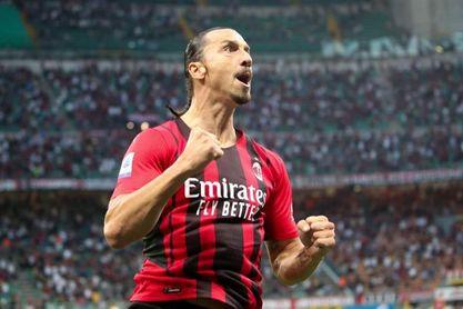 Leao e Ibrahimovic mantienen el pleno del Milan