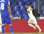 0-1. Lucas Pérez deja tocado al Getafe