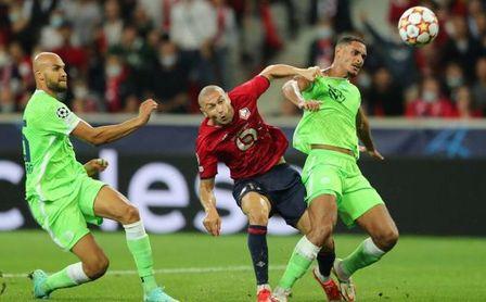 Lille 0-0 Wolfsburgo: Le 'echan una manita' al Sevilla FC