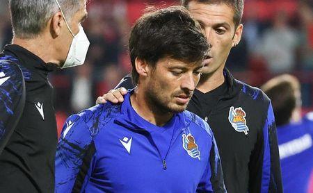 Silva aumenta el parte de guerra de la Real para recibir al Sevilla FC