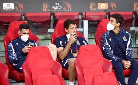 La Real Sociedad, con casi un tercio de su plantilla de baja para recibir al Sevilla