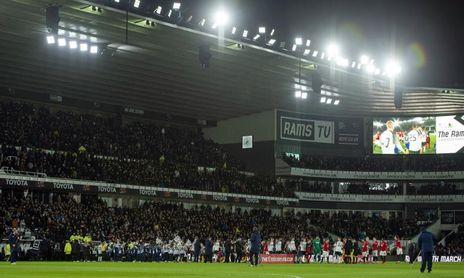 Derby County, la pesadilla termina en concurso de acreedores