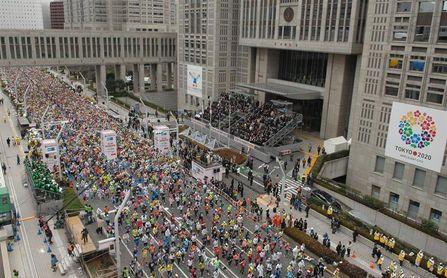 Posponen el Maratón de Tokio a 2022 por la imprevisibilidad de la pandemia