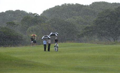 La lluvia fuerza a la cancelación y el torneo queda reducido a 54 hoyos
