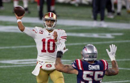 11-17. Garappolo vuelve a lucir dominante y los 49ers se imponen a los Eagles