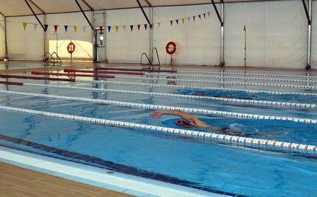 Comienza la transformación de las piscinas climatizadas en el SADUS.