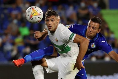 Lucas Boyé no entrena con el grupo y es duda ante Villarreal