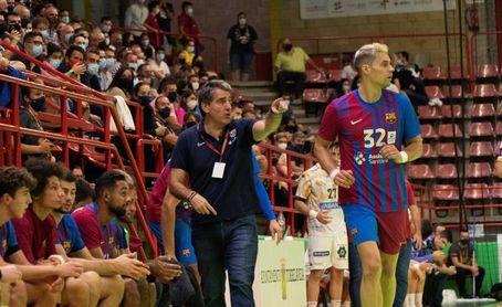 """Ortega: """"Nunca pensé que podría llegar a ser el entrenador del Barça"""""""